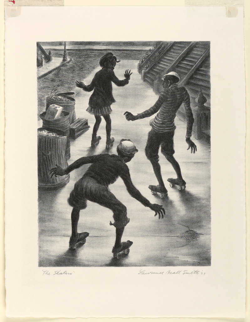 Print, The Skaters