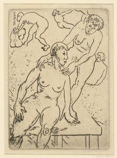 Print, Nude Women