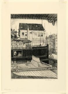 Print, Waterfront, 1933