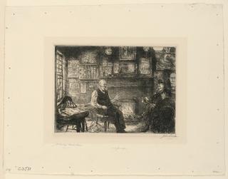 Print, McSorley's Back Room