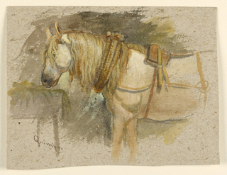 Drawing, Studies: Sketches from France. Etretat, Seine-Inférieure, Quimper, Brittany, 1873–74