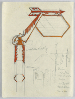 Drawing, Design for Signpost
