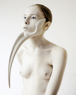 Wearable Sculpture, from ANIMAL: The Other Side of Evolution series, 2012