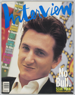 Sean Penn on cover.
