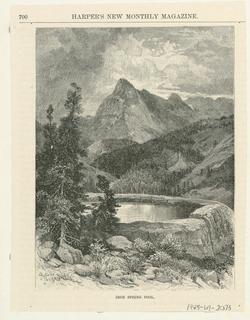 Print, Iron Spring Pool