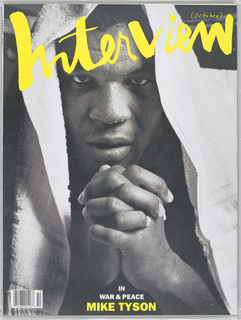 Mike Tyson on cover.