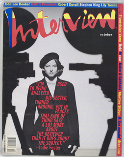 Jodie Foster on cover.