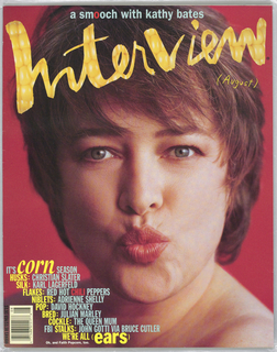 Kathy Bates on cover.