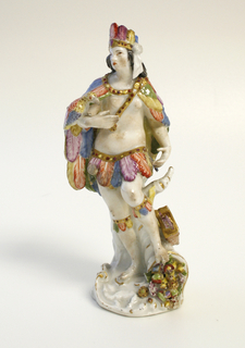 """Allegorical Figures of the """"Four Continents"""" Figures"""