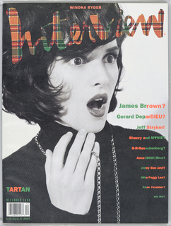 Winona Ryder on cover.