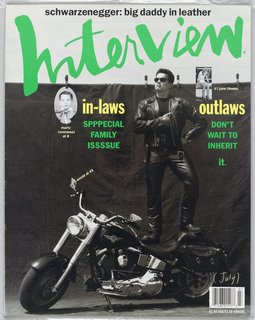 Magazine, Interview, July 1991