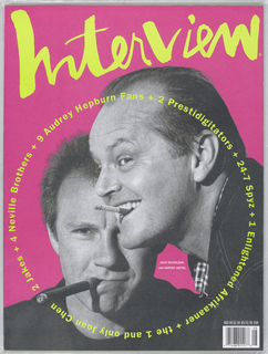 Jack Nicholson and Harvey Keitel on cover.
