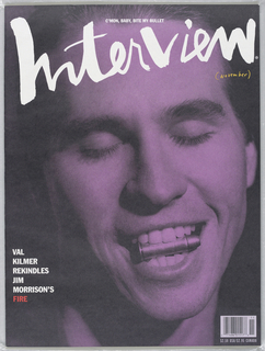 Val Kilmer on cover.