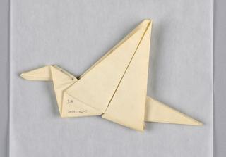 Folded Paper, Origami bird