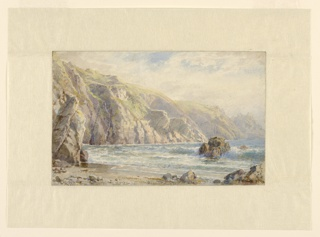 "Drawing, Study for ""Moulin Huet Bay, Guernsey"", 1897"