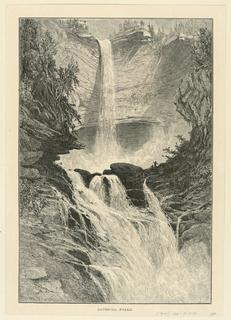 Print, Catskill Falls