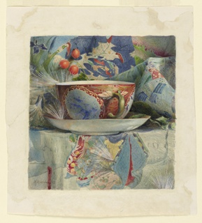 Drawing, Still Life with Tea Cup