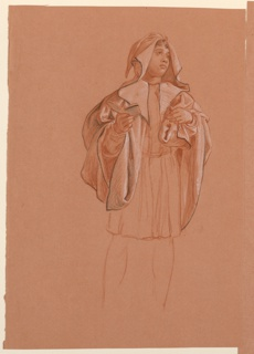 """Drawing, Study for """"Wedding Procession"""""""
