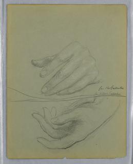 Drawing, Albert Gallatin, Two Left, 1899
