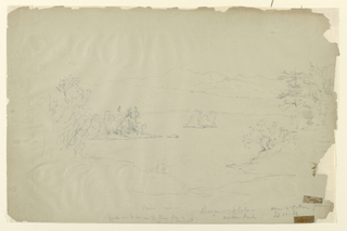 Drawing, New Hampshire Landscape