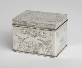 Box, late 19th century