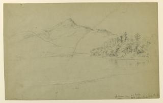 Drawing, Chocorna Lake