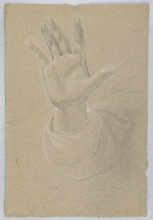 "Drawing, Study for ""Early Christia, 1839–40"