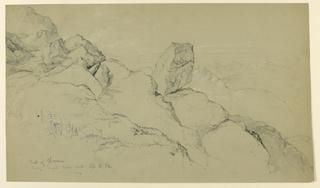 Drawing, Peak of Chocorna