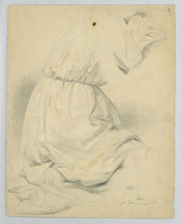 "Drawing, Study for ""Communion of t, 1846"