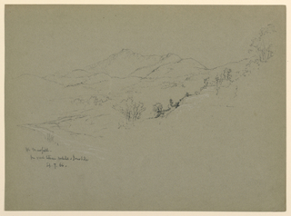 Drawing, Mt. Mansfield, New Hampshire