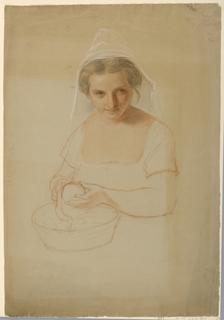 "Drawing, Study for ""Ichabod Crane, 1861"