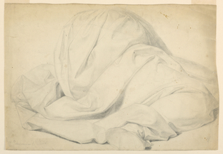 "Drawing, Study for ""Communion of the Sick"", 1844–45"