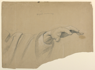 "Drawing, Study for ""Communion of t, 1844"