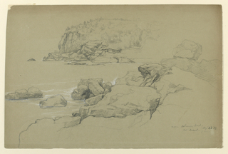 Drawing, Mt. Desert, Near Schooner Head