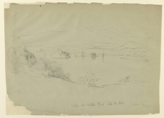 Drawing, Landscape Sketch - New Hampshire