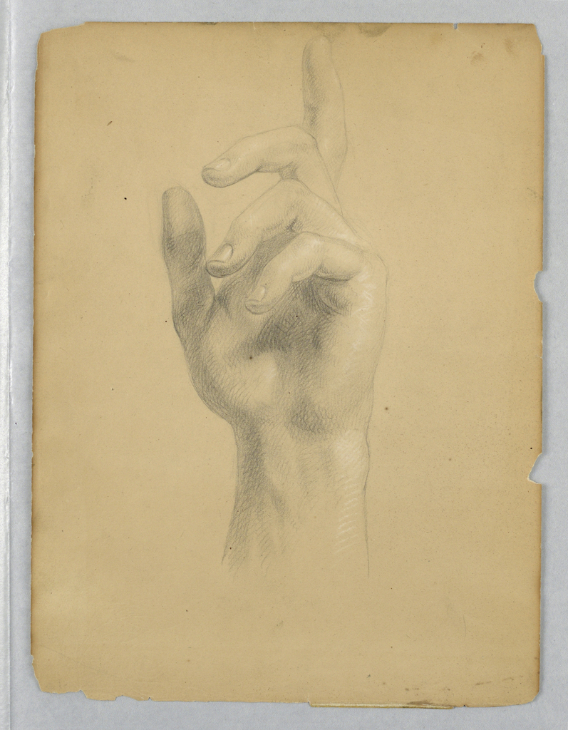 """Drawing, Study for """"Mercy's Dream"""", 1841"""