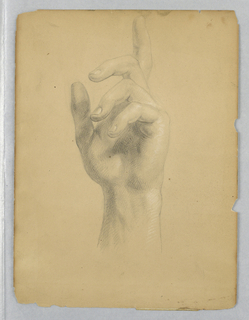"Drawing, Study for ""Mercy's Dream"", 1841"