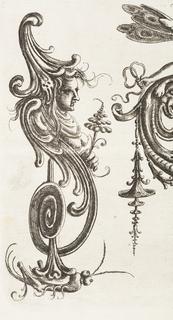 Print, Plate 28, from Neüw Grotteßken Buch (New Grotesque Book)