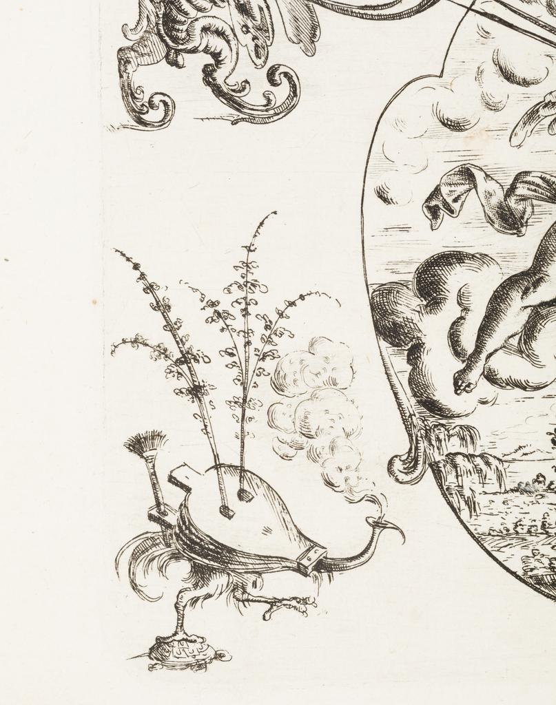 Print, Plate 31, from Neüw Grotteßken Buch (New Grotesque Book)