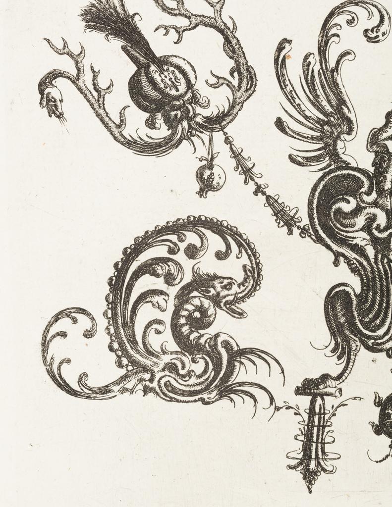 Print, Plate 48, from Neüw Grotteßken Buch (New Grotesque Book)