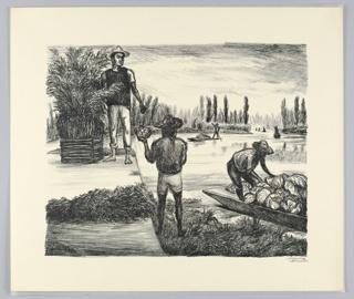 Print, Peasants of Tlahvac