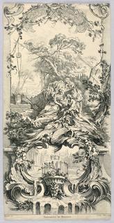 Print, Triomphe de Pomone, 18th century