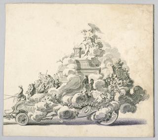Print, Festival Float, 18th century