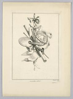 Print, Trophy, 18th century