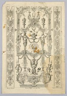 Print, Ornamental Arabesques, 18th century