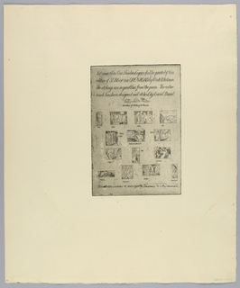 Print, Song of the Open Road (Colophon), 1933