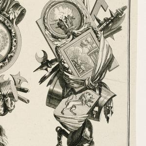 ornamental print [etching]