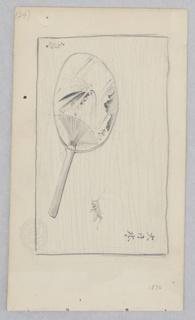 Drawing, Japanese Fan
