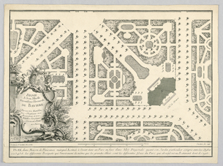 Print, Plan of a Country House, 18th century