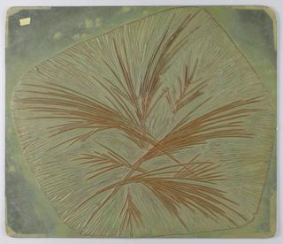 Linoleum Printing Blocks (USA), 1954